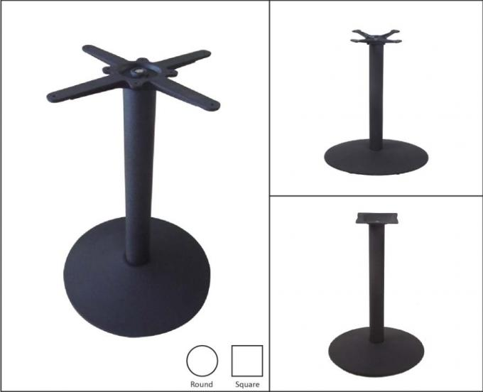 Professional Coffee Table Base Metal Table Legs Customized Cast Iron powder coat