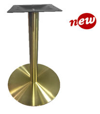 China Stainless Steel Table Legs / Hospitality Table Base With Copper Finish 2109-GD supplier