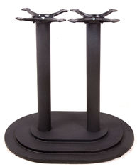 China 2001 Cast Iron Round Table Base / Powder Coated Table Legs Colour Customized supplier