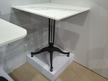 China Coffee Table base Powder Coated Metal Dining Table Legs / Bases 28'' / 41'' Height supplier