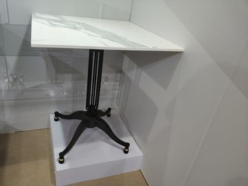 China Commercial Furniture Cross Table Base Powder Coat Height 28'' 3 Pronge / 4 Pronge supplier