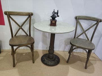 China Rustic Bar Table legs  Cast Iron Antique Table base Commercial Furniture Parts supplier