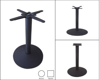 China Restaurant Furniture Commercial Metal Table Legs Pedestal Style 28''/ 41'' Height supplier