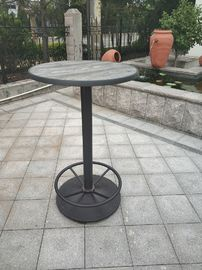 China Pub Furniture Coffee Table Base Waterproof Table Leg Cafe Table Outdoor Furniture supplier