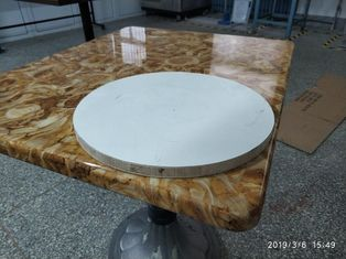 China Industrial Bistro Table Base Cast Iron Powder Coating Tulip Table Base supplier