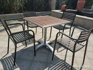 26'' Aluminum Table Base Outdoor Furniture Cross Base Silver Surface
