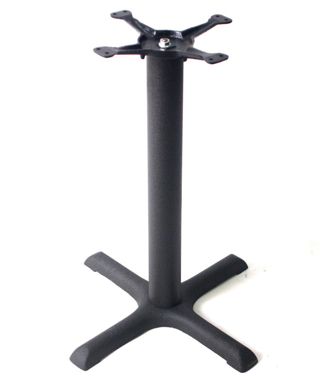 Cast Iron Coffee Table Legs  Restaurant Table Bases Black Powder Coated Dining table