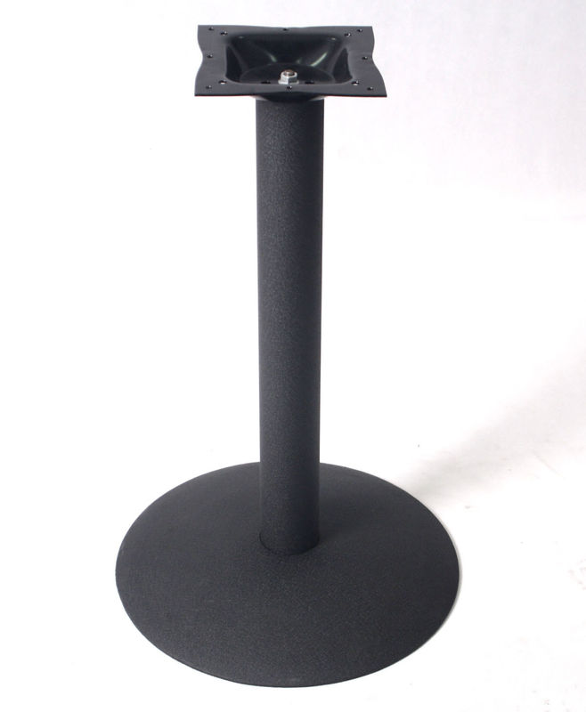 Industrial Cast Iron Table Base Metal Pedestal Table leg Easy Store  Transport