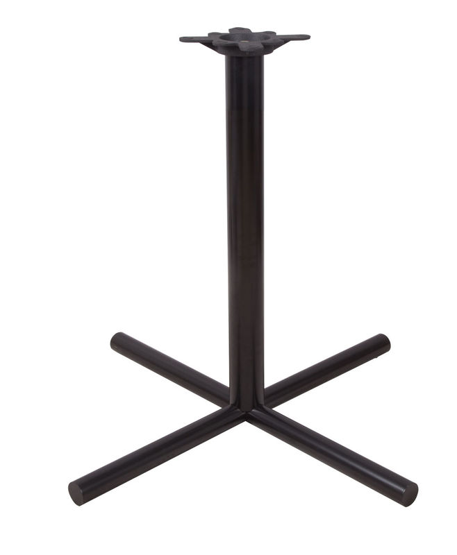 Powder Coated Table Base / Modern Dining Table Metal Legs Spider Size 10''  X 10''