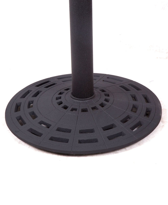 Eco Friendly Outdoor Table Base Black Wrinkle Powder Coated Coffee Table Legs