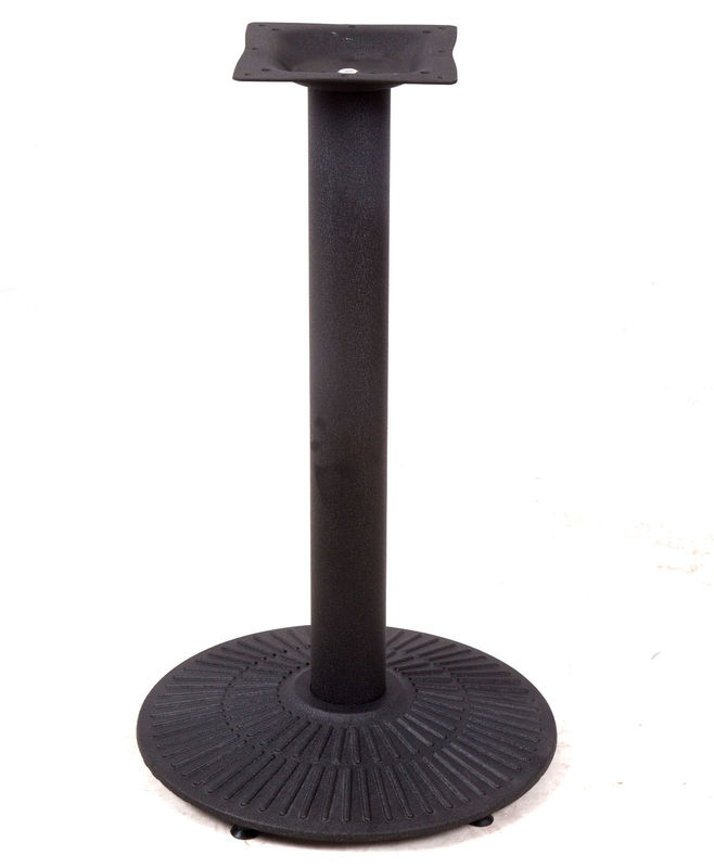 China Popular Console Table Legs , Cast Iron Pub Table Base Shaped  Customized Supplier