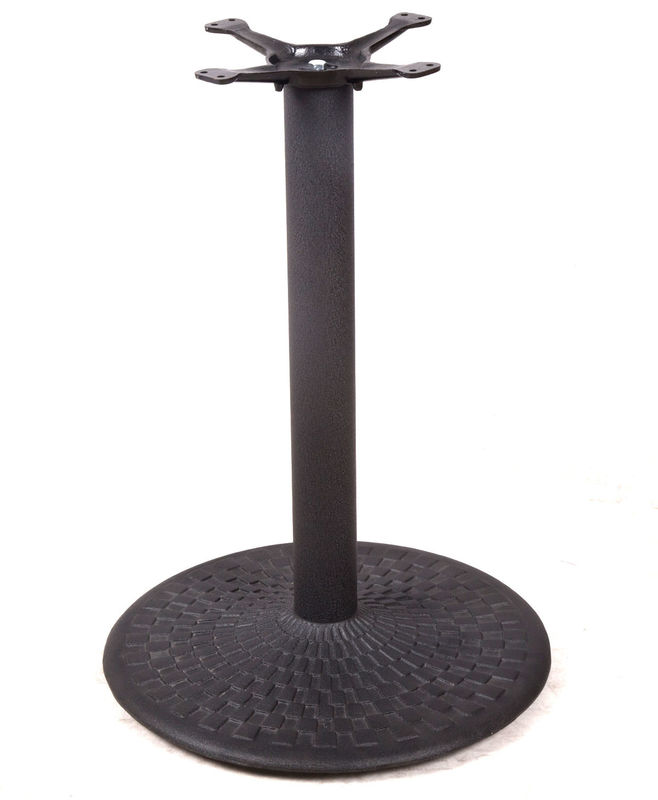 Custom Dining Table Legs Cast Iron With Good Appearance Round Dining Table Base