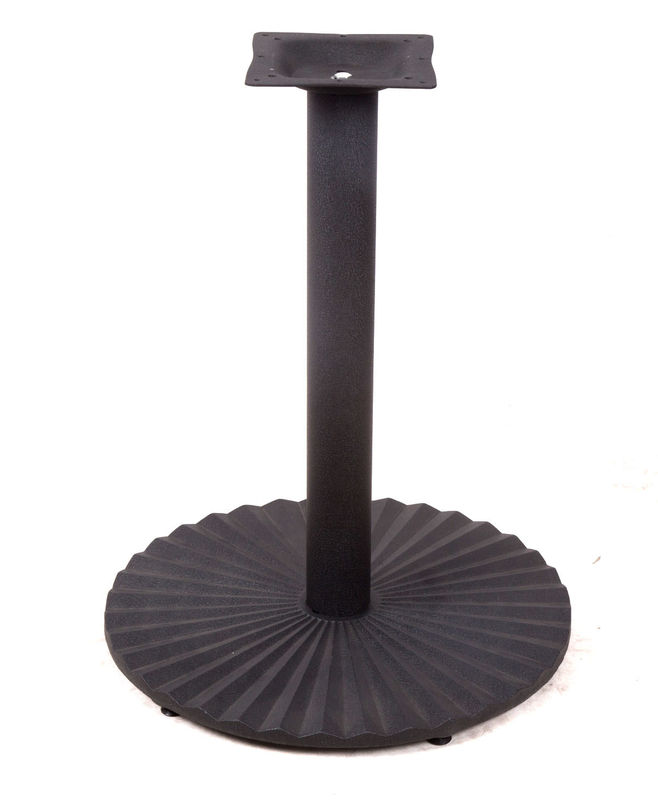 Powder Coated Table Legs Heavy Duty Cast Iron Pedestal Table base Restaurant Table