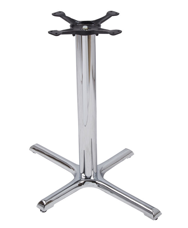 Professional Metal Kitchen Bar Table Legs Chrome Products With Furniture Leg Caps