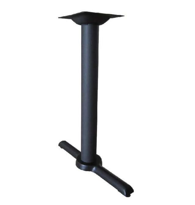 Dia 3 Cross Table Base Metal Bistro Table Leg Iso9001 Approved