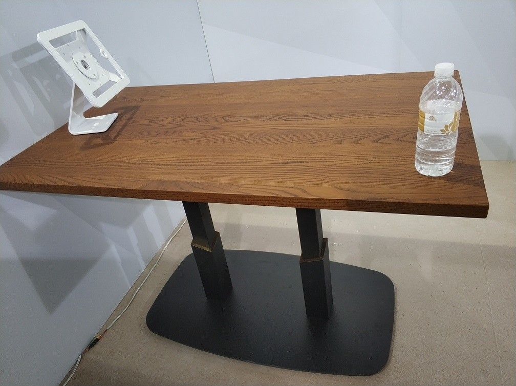 Square Dining Table Legs  Restaurant Table bases Hospitality Furniture Flat Board