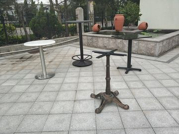 China Outdoor  Dining Table Bases Waterproof Modern Table Leg Metal Tube Table legs factory