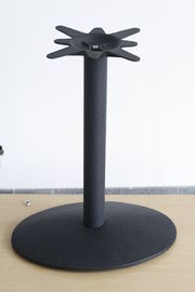 Powder Coat Outdoor Dining Table Legs Commercial Pedestal Table Leg Cast Iron
