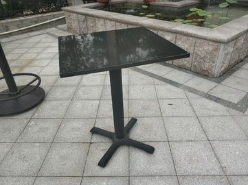 China Bistro Table base Cast Iron Table leg Water proof Outdoor Furniture Bar Table factory