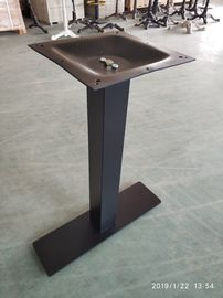 China Powder Coated Bistro Table Legs Mild Steel Table Leg For Restaurant Furniture factory