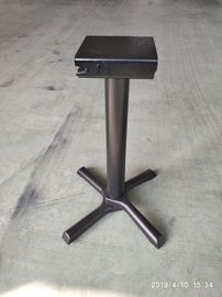 China Black Space Saving Bar Table Legs Flip Top Table Base Cast Iron Table Bas legs factory