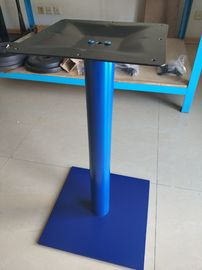 Sqaure Powder Coated Table leg Adjustable Feet Stainless Steel Coffee Table Base