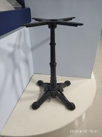China 28'' / 41'' Height Dining Table Pedestal Base Powder Coat Ornamental Table Leg distributor