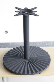 "Restaurant Furniture Round Metal Table Base 28"" Height Powder Coat Finish"