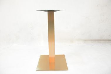Banquet Hall Metal Furniture Legs Heavy Duty Table Legs Brush / Mirror Finish