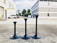 Modern Tulip Pedestal Bar Table Legs Powder Coated Outdoor Furniture