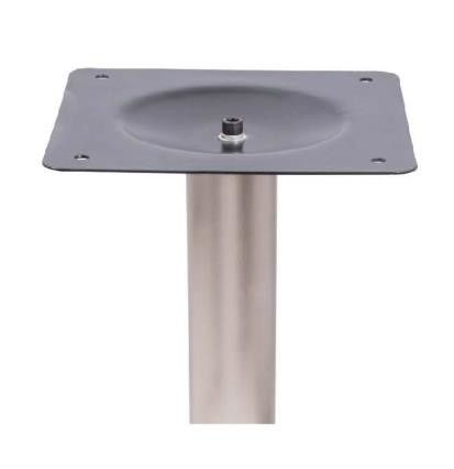 ISO9001 Metal Table Legs Round Modern Patio Table Base Dia 560mm Stainless Steel
