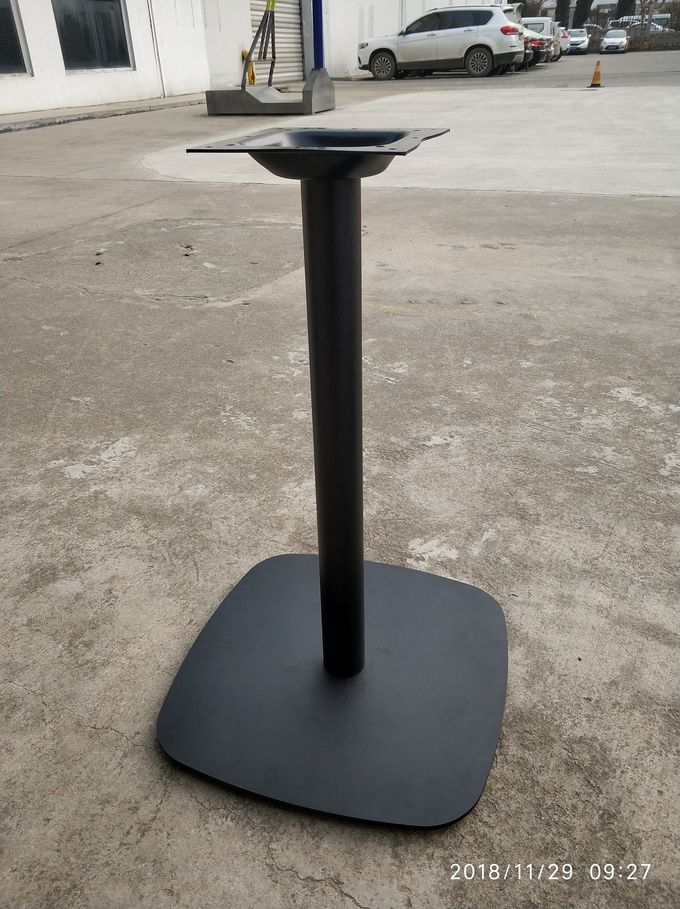 Mild Steel Dining Table Restaurant Table Bases Pedestal Bases For Outdoor Furniture
