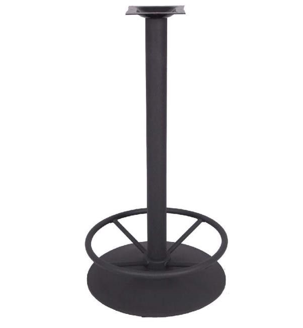 0204 Round Metal Table leg Furniture Parts OEM Table base Restaurant Outdoor Furniture