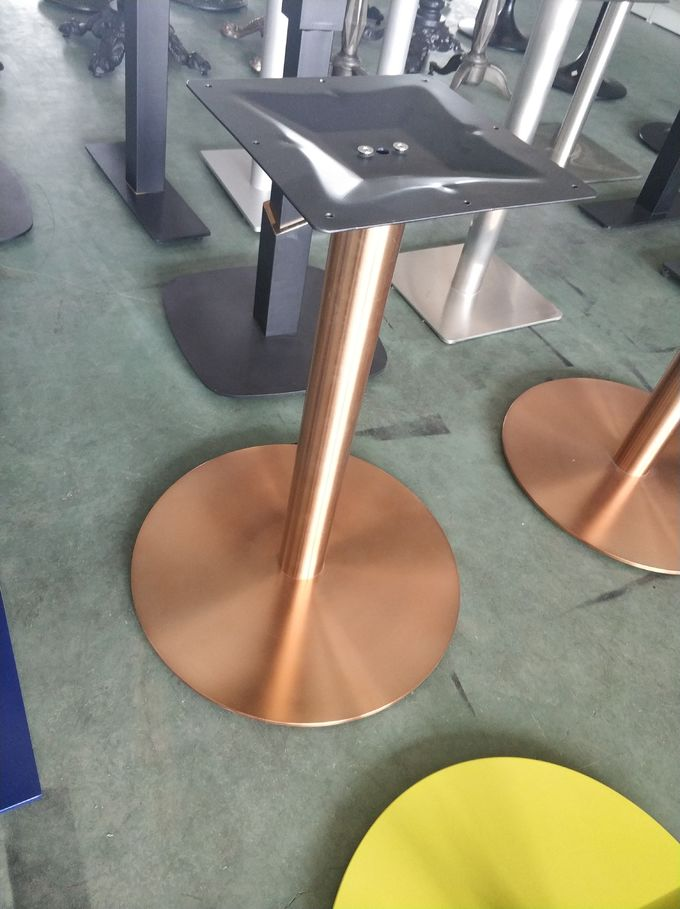 Modern Table base  Airport Table Metal Table leg Mild Steel in Golden China Factory